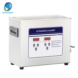 China PCB Board / Electronic Parts Benchtop Ultrasonic Cleaner 6.5L 180W Adjustable Timer factory