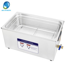 China Adjustable Timer Benchtop Ultrasonic Cleaner 22L 480W For Moulds / Precision Parts factory