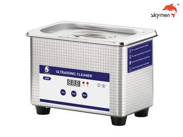 China 40KHz Industrial Ultrasonic Cleaner 0.8L 60W For Contact Lens / Glass / Shaver factory