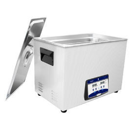 China Table Top Carburetor Digital Ultrasonic Cleaner Large Capacity 38L With Insulated Handle distributor