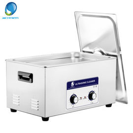 China Mesh Basket Mechanical Ultrasonic Cleaner , Ultrasonic Fuel Injector Cleaning 20L factory