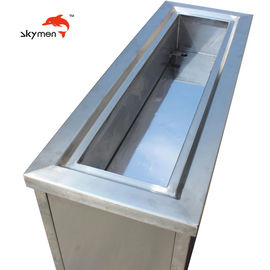China Heater Exchanger Large Capacity Ultrasonic Cleaner SUS 304 With Filtration System factory