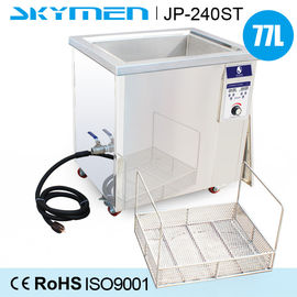 China Fingerprint Oil Ultrasonic Cleaning Machine 77 Liter With 3000W Heating Power factory