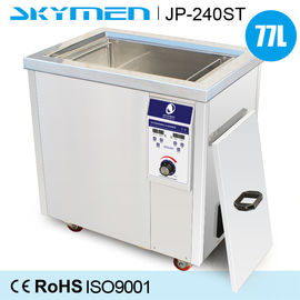 China Wax In Wafer Ultrasonic Cleaning Machine 77 Liter With 3000W Heating Power factory