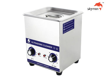 China 60W Benchtop Ultrasonic Cleaner , Heated Ultrasonic Cleaner For Cosmetic Brush factory