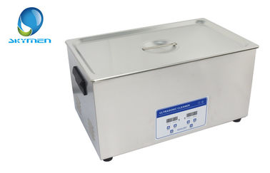 China Household Ultrasonic Injector Cleaner 40khz 600W For Metal Parts factory