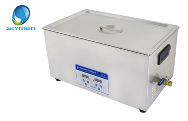 Industrial Benchtop Ultrasonic Cleaner Stainless Steel for Motor Parts Degrease