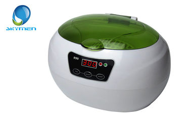 China 600ml Digital Ultrasonic Jewelry Cleaning Machine , Ultrasonic Ring Cleaner factory