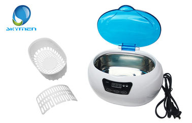 600ml Portable Ultrasonic Cleaning Machine For Jewellery / Watch / Denture