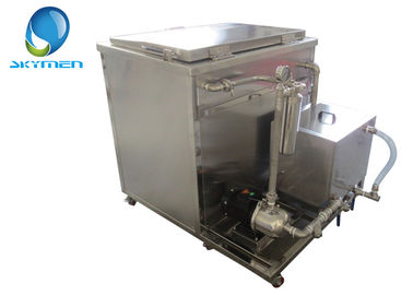 China Professional Ultrasonic Cleaning Machine For Auto Part Radiator Oil Pump factory