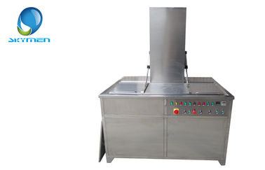 China Professional Large Ultrasonic Cleaner for Auto Parts , Car Tire , Rim factory