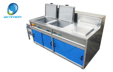 China Industrial Multi Frequency Ultrasonic Cleaner Stainless Steel 28khz , 40khz , 80khz factory