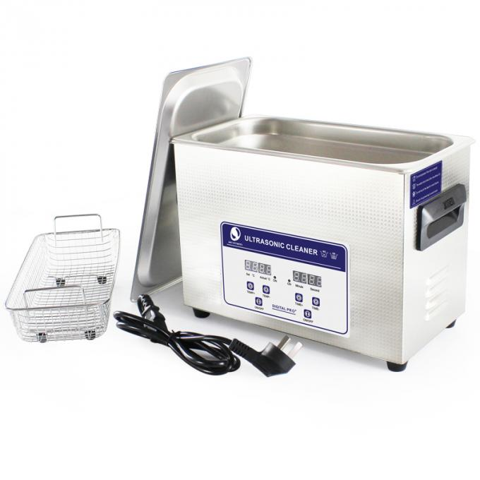 Digital Heater Benchtop Ultrasonic Cleaner , Household Kitchen Ultrasonic Cleaning Machine