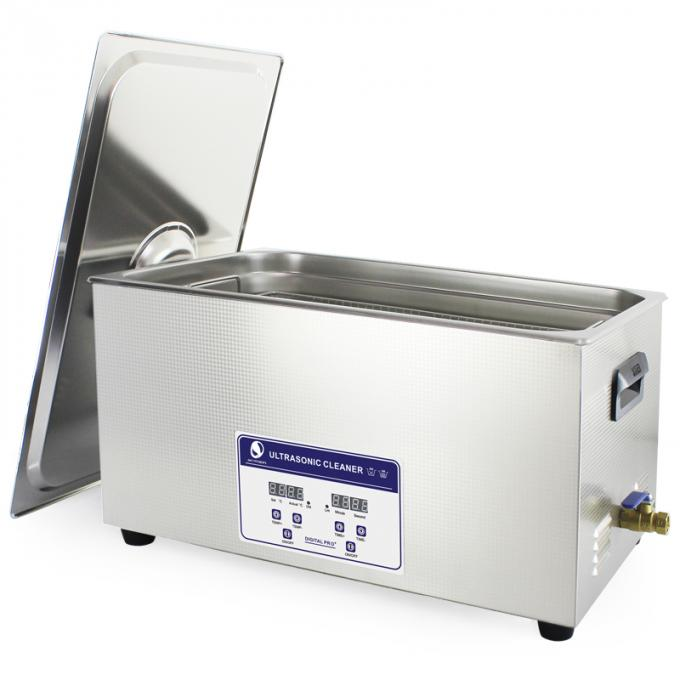 22L Lab Instrument Benchtop Ultrasonic Cleaner Digital Control 40KHz Frequency