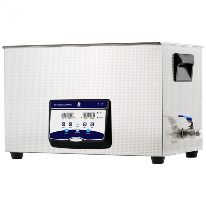 30L Benchtop Ultrasonic Cleaner with degas function for diesel injector, filters