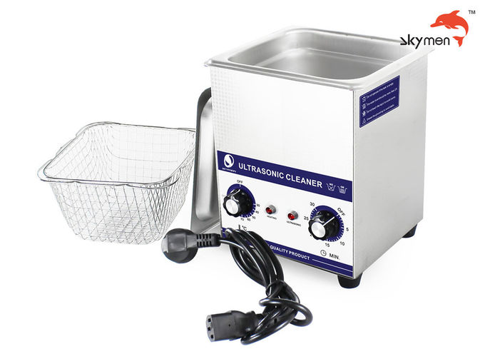 Mold Components Mechanical Ultrasonic Cleaner 2L 60 Watt JP-010 SUS 304 Material