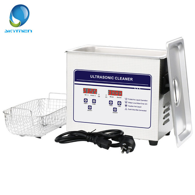 Engine Parts Benchtop Ultrasonic Cleaner 240W 10L Tank Capacity Adjustable Heater