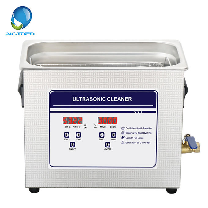 Dental Tools Benchtop Ultrasonic Cleaner 10L Tank Volume 240 Watt 1 Year Warranty
