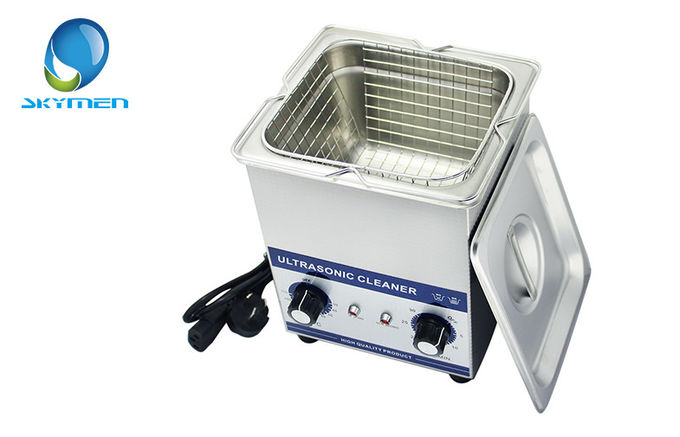 Liters ultrasonic jewelry cleaning tools household with manual knobs